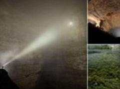 Er Wang Dong cave in China so huge it has its own weather system